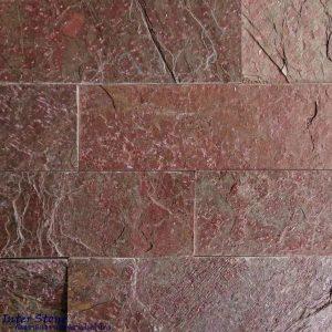 หินตกแต่งผนัง ควอตไซต์คอปเปอร์ Copper Quartzite 6x20 ซม.