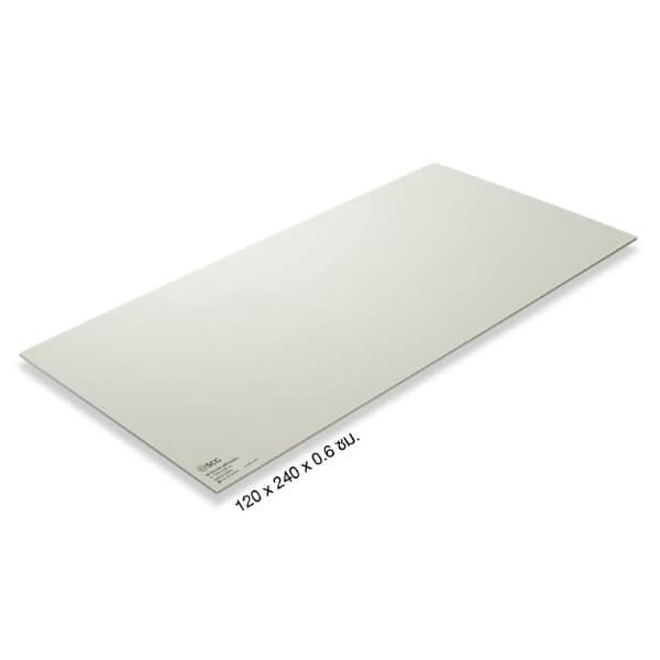 SCG ฝ้าสมาร์ทบอร์ด ขอบเรียบ สีซีเมนต์ 120x240x0.6cm.