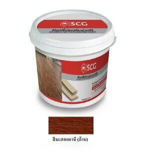 SCG สีย้อมไม้พื้น สีมะฮอกกานี 3.6 กก.