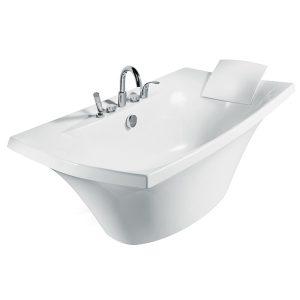 อ่างอาบน้ำอะครีลิค K-11344X-G-0 ระบบบับเบิ้ลมาสซาจ
