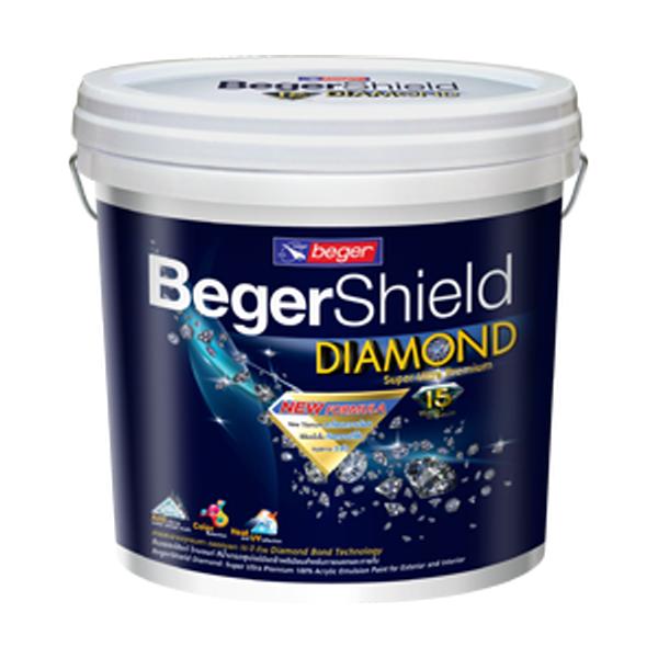 Beger Shield Diamond สีเบเยอร์ชิลด์ไดมอนด์