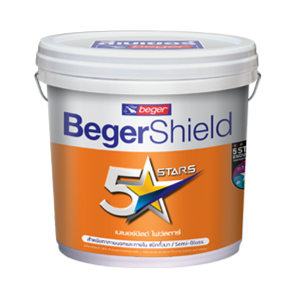 สีน้ำอะคริลิก BegerShield Semi-gloss 5 Stars