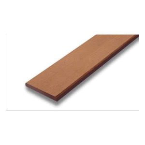 SCG ไม้รั้ว รุ่นลายไม้ ขนาด 7.5X400X1.2 ซม. สีรองพื้น