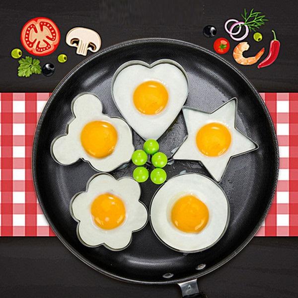พิมพ์ทอดไข่ เซท 5 ชิ้น