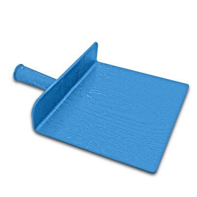 กะบะปูน พลาสติก สีฟ้า สำหรับงานฉาบ