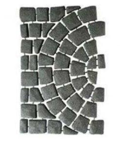 เอสซีจี บล็อกปูพื้น ครึ่งวงกลม ผิวเรียบ คาร์เพท สโตน