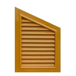 บานจั่วช่องลม 40x60 สีไม้สัก