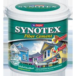 สีทาไม้ฝา โปร่งแสง เบเยอร์ Synotex Fiber Cement