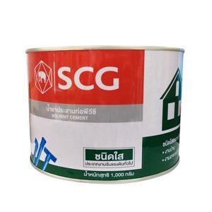 น้ำยาเชื่อมท่อ PVC ชนิดใส SCG 1000 กรัม