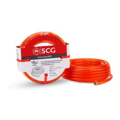 สายยางอ่อนพีวีซี SCG 5/8x10 สีส้ม