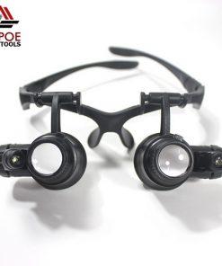 แว่นขยายแบบแว่นตา มีไฟ รุ่น No.9892G
