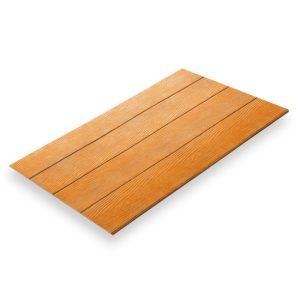 สมาร์ทบอร์ดเซาะร่อง 6 นิ้ว ลายไม้สักทอง 60x300x0.8 ซม.