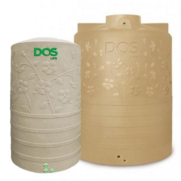 ถังเก็บน้ำ DOS CHABA ลายดอกชบา DE-40 SB