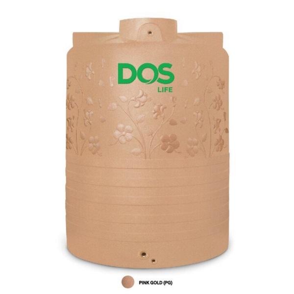 ถังเก็บน้ำ DOS ลายดอกชบา HY-47 PG 3000