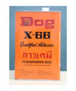 กาวเคมี X-66 ตราหมา