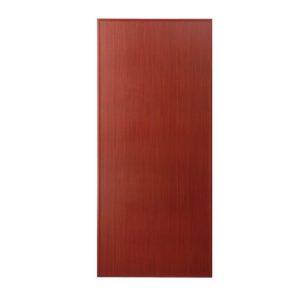 ประตู UPVC แบบเรียบ U01 ตรา JF พร้อมวงกบประตูรุ่น B100