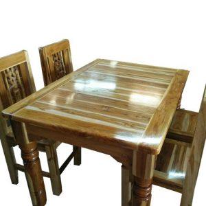 โต๊ะอาหาร4ที่นั่ง ไม้สัก