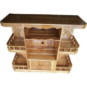 โต๊ะทีวี ไม้สัก