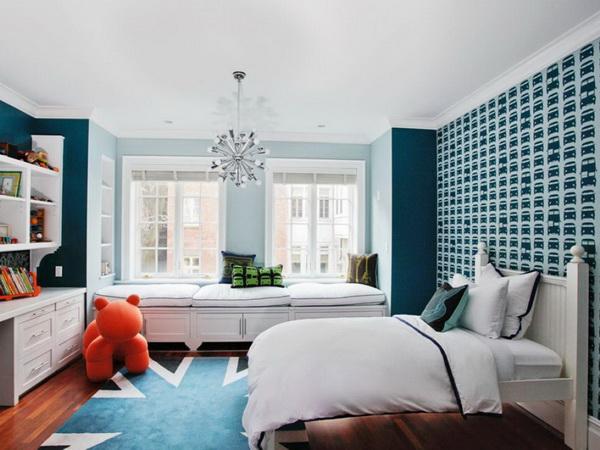 เปลี่ยนห้องนอนด้วยโทนสีฟ้า เพิ่มความสดชื่นสำหรับช่วงเวลาพักผ่อน