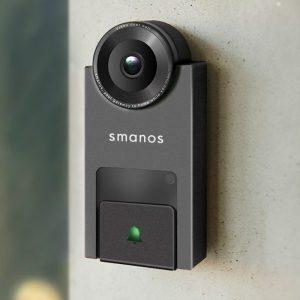 กริ่งบ้านอัจฉริยะ มีกล้องคุยได้ 2 ทาง Smanos DB-20