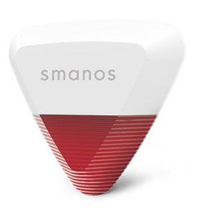 ไซเรนกันขโมย สำหรับติดตั้งนอกบ้าน Smanos WS-20