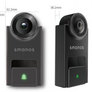 กริ่งบ้านอัจฉริยะ Smanos DB-20 (Smart Video Doorbell)