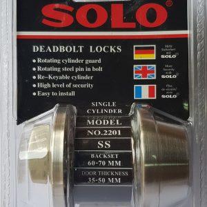 กุญแจลิ้นตาย 2201 SS SOLO