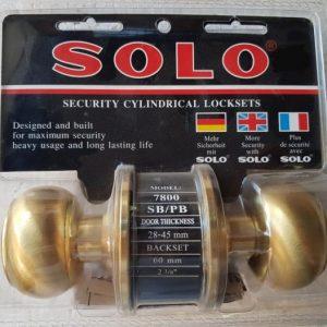 ลูกบิด ทั่วไปSOLO 7800 หัวจัน SB/PB สีทอง