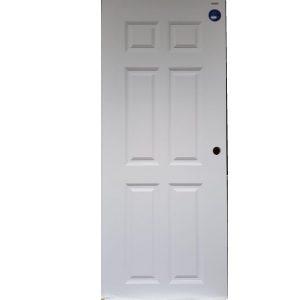 ประตูUpvc Vinyl รุ่นREVOลายลูกฟัก PNR-003