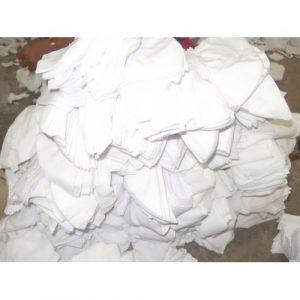 เศษผ้าขาว สำหรับงานทำความสะอาดทั่วไป