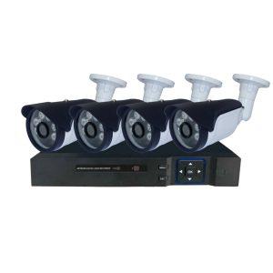 กล้องวงจรปิดพร้อมติดตั้ง 4 กล้อง 1MP รุ่น KIT-04F