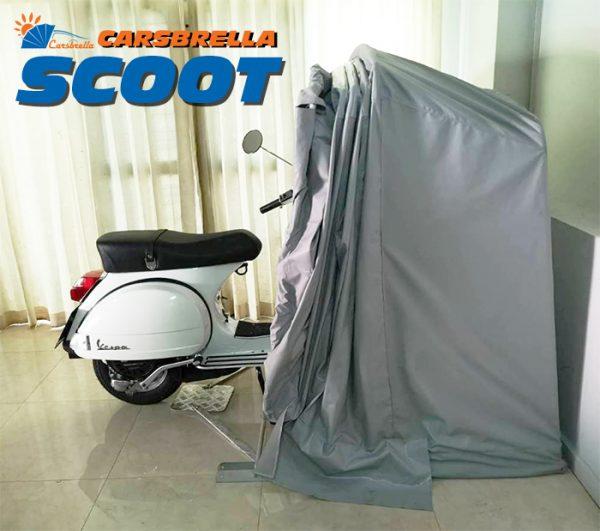โรงจอดรถมอเตอร์ไซค์พับเก็บได้ รุ่น SCOOT