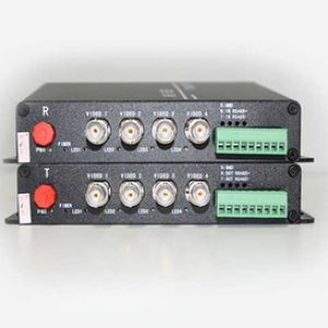AHD-4V1D-T/RF 1080P อุปกรณ์แปลงสัญญาณ HD-AHD