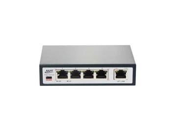 สวิตช์ PoE Switch 5 Port Long Transmission รุ่นASIT-31004PL