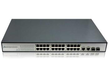 รุ่นASIT-31024PF ASIT PoE Switch with 24Ethernet Ports 4Gigabit Ports