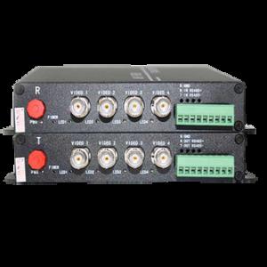 อุปกรณ์แปลงสัญญาณ รุ่น AHD-4V1D-T/RF 720P