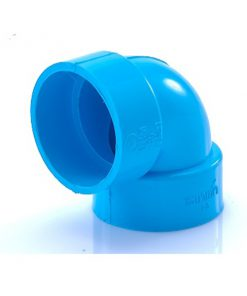 ข้อต่อข้องอ90 พีวีซี เอสซีจี ระบบระบายน้ำ