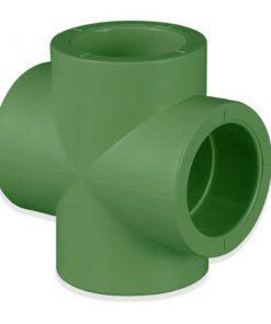 ข้อต่อสี่ทาง PP-R SCG ระบบประปาน้ำร้อน