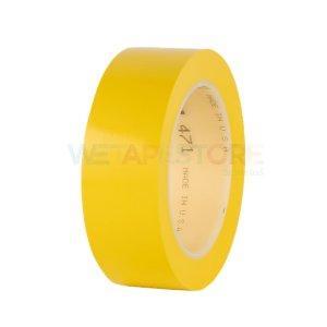 3M 471 Vinyl Tape Yellow เทปไวนิลตีเส้นพื้น สีเหลือง