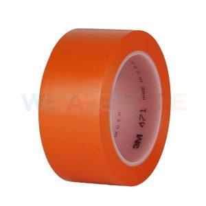 3M 471 เทปไวนิลตีเส้นพื้น สีส้ม