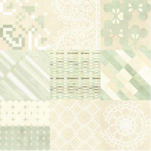 AZULEJ Combination Bianco 20x20 cm.