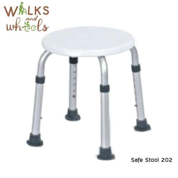 เก้าอี้นั่งอาบน้ำรูปวงกลม Safe Stool 202