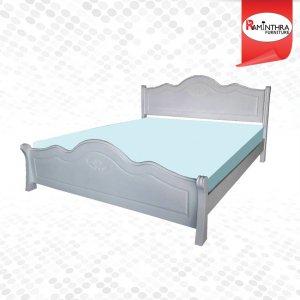 เตียงไม้ยางรุ่น Philips