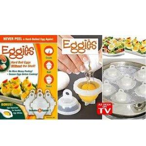 EGGIES อุปกรณ์ต้มไข่แบบไร้เปลือก