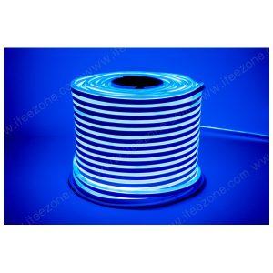 ไฟเส้น Neon Flex 220V ดัดโค้งงอ สีน้ำเงิน