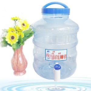 ถังน้ำดื่ม PET 5 ลิตร มีก๊อก