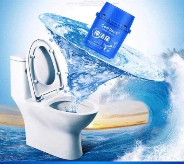 ผงดับกลิ่น สะอาดทุกครั้งที่กดน้ำ