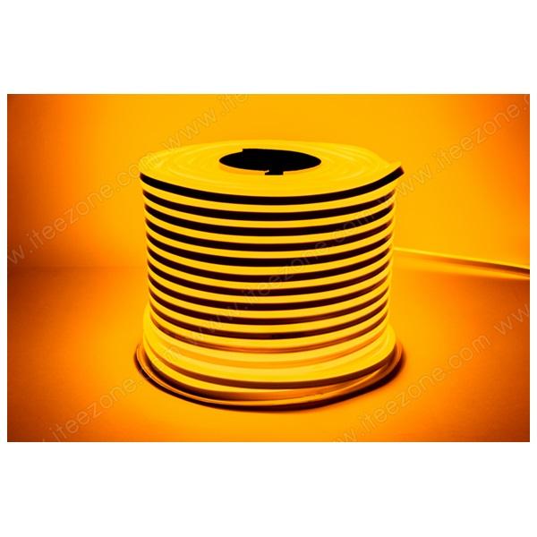 ไฟเส้น Neon Flex 12V ดัดโค้งงอ สีเหลืองทอง