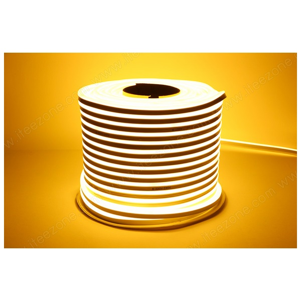 ไฟเส้น Neon Flex 12V ดัดโค้งงอ สีวอร์ม