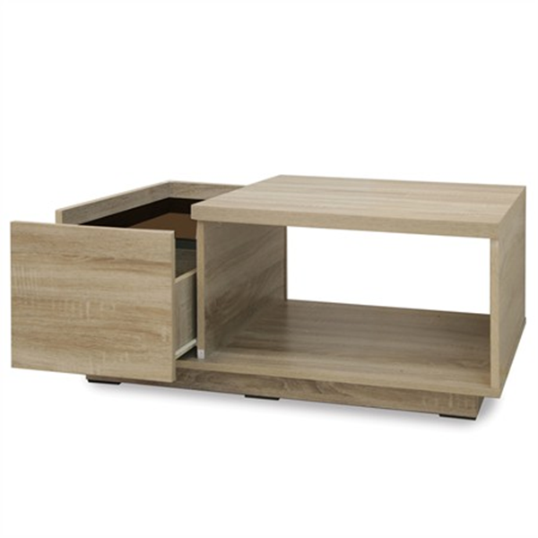 โต๊ะกลางไม้ 90 ซม.